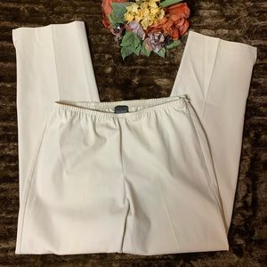 Eileen Fisher 95% Cotton 5 Slim Ankle Pant
